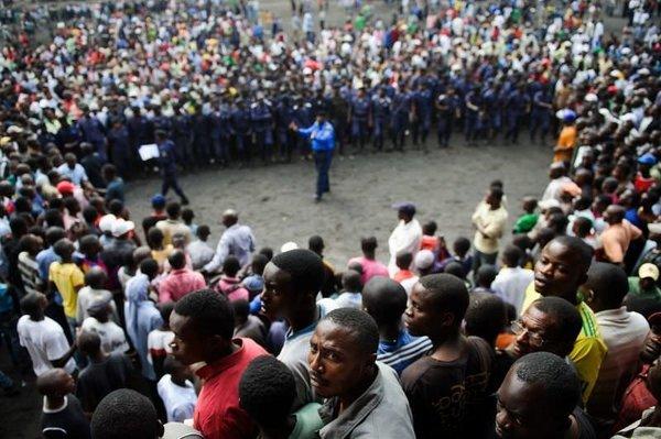 Demokratik Kongo karıştı