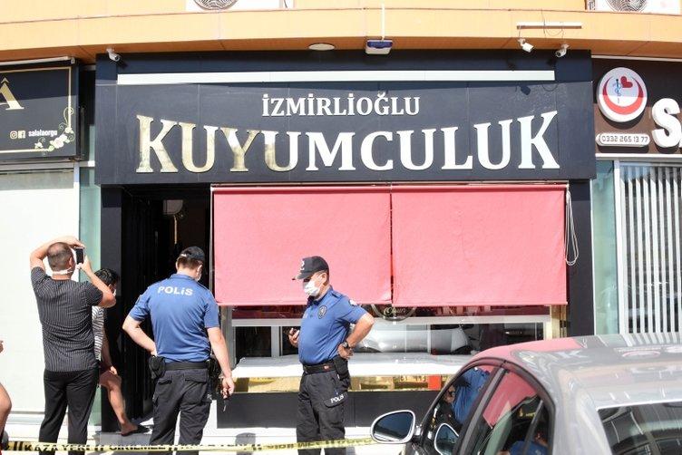 Konya'da filmleri aratmayan olay! Kuyumcu karı koca, hırsızları böyle etkisiz hale getirdi!
