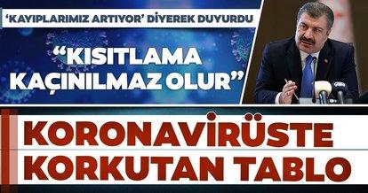SON DAKİKA HABERİ: Sağlık Bakanı Fahrettin Koca 27 Kasım hasta ve vaka sayılarını açıkladı: Günlük en yüksek vefat sayısı!