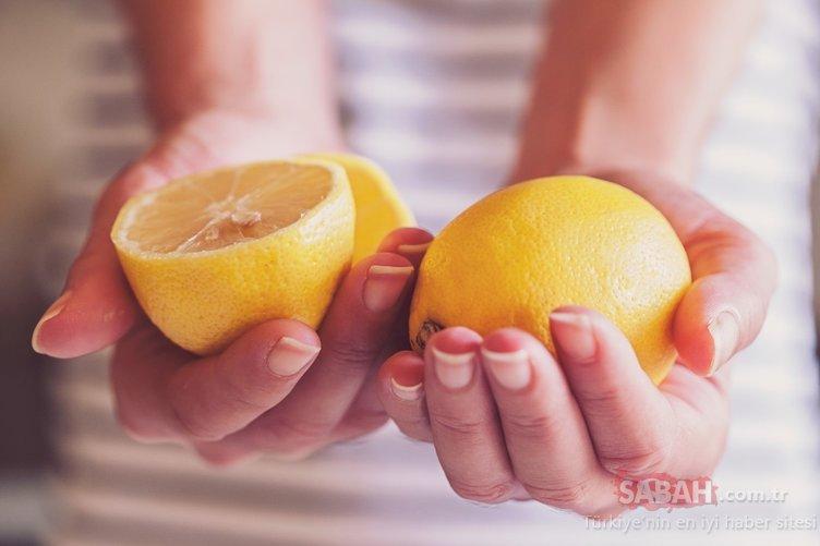 5 günde 3 kilo yağdan gidiyor! İşte limon diyeti