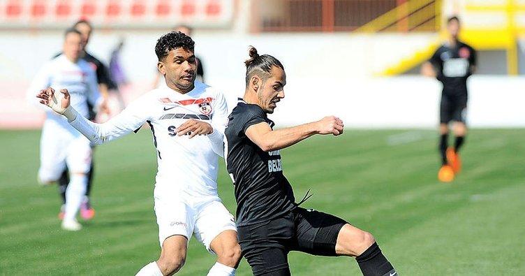 Ümraniyespor: 1 - Gazişehir Gaziantep: 2