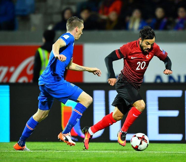 İzlanda-Türkiye maçından kareler