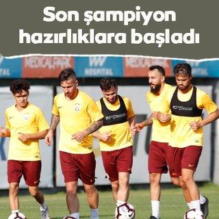 Son şampiyon Galatasaray yeni sezon hazırlıklarına başladı