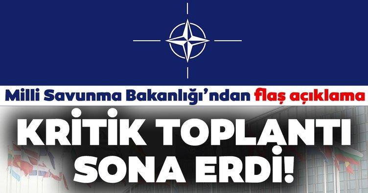 Türk ve Yunan askeri heyetleri arasındaki  'Doğu Akdeniz' toplantısı sona erdi! MSB'den son dakika açıklama