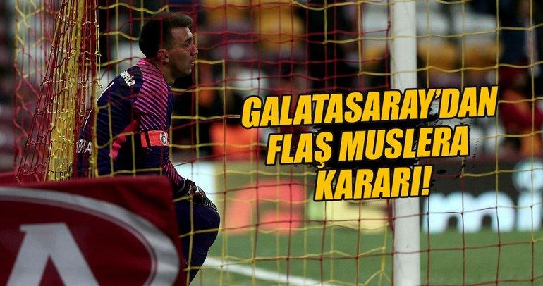 Galatasaray'dan flaş Muslera kararı