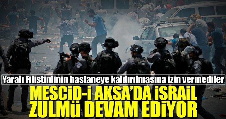 Mescid-i Aksa'da İsrail zulmü sürüyor