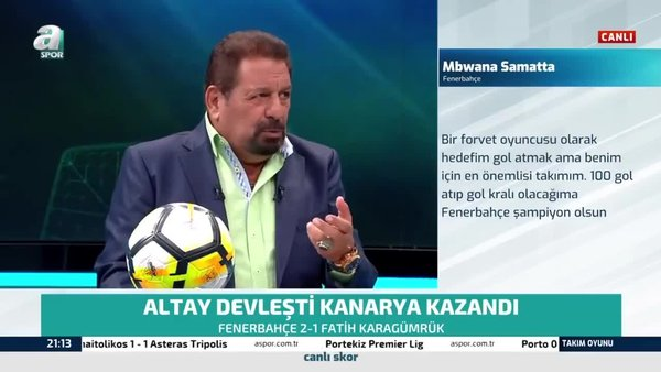 Erman Toroğlu: Altay Bayındır kaliteli bir çocuk!
