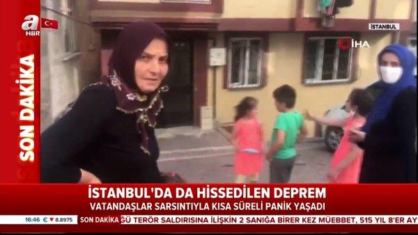 Son dakika haberi: İstanbul ve çevre illerde hissedilen 4,2'lik korkutan deprem! İşte ilk görüntüler... | Video