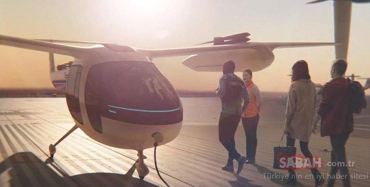 Uçan taksiler ilk bu ülkelerde hizmete girecek