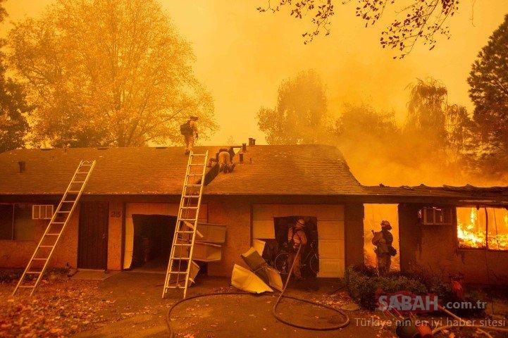 Kaliforniya yangınlarla boğuşuyor