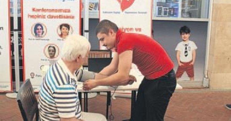 İzmirlilerin kalp yaşı ölçüldü