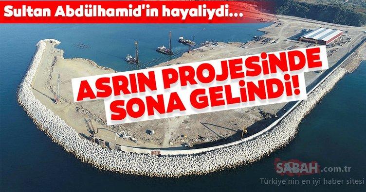 Sultan Abdülhamid'in hayaliydi... Asrın projesinde sona gelindi!