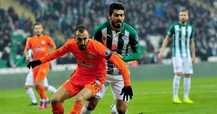 Çaykur Rizespor'dan Bursaspor'a yarım düzine gol!