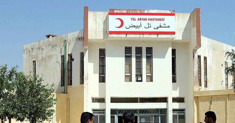 Tel Abyad'da teröristlerin yaktığı hastane onarıldı, günlük 800 hastaya şifa dağıtıyor