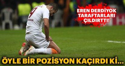 Eren Derdiyok, Galatasaray taraftarlarını çıldırttı