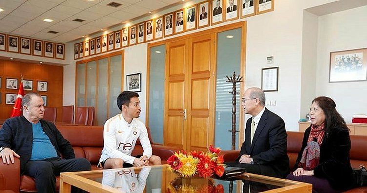 Japon başkonsolostan Galatasaray'a ziyaret