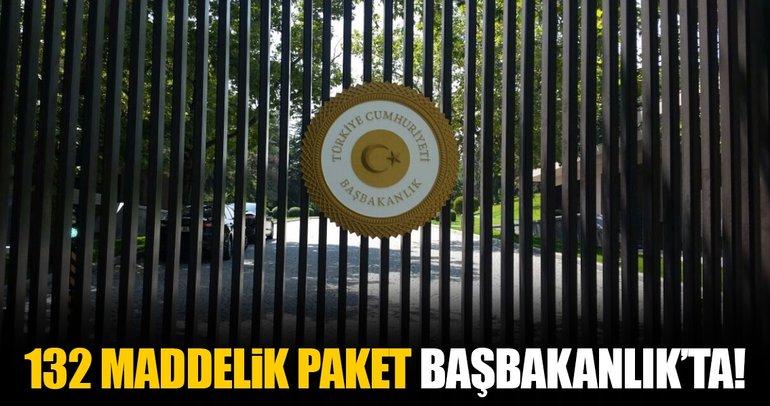 Adalet Bakanlığı'nın hazırladığı 'uyum paketi' Başbakanlık'ta