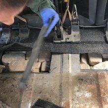 Araç tabanına zulalanmış 155 kilo eroin ele geçirildi
