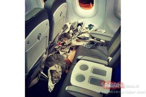 Hosteslerin uçuş esnasında çektikleri fotoğraflar sosyal medyada olay oldu!