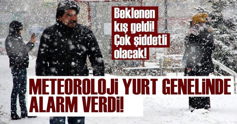 Meteoroloji'den son dakika hava durumu uyarısı bugün geldi! İstanbul'a kar ne zaman yağacak?