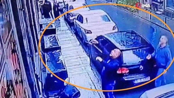 Son Dakika! İstanbul'da akılalmaz silahlı saldırı! Balkondan sepetle sarkıttılar   Video