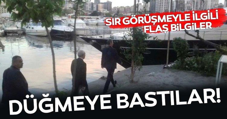 Kılıçdaroğlu'nun Kalamış görüşmesindeki isimler tanıdık! Düğmeye bastılar...