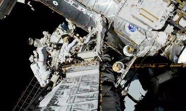 Uzay yürüyüşünde bir ilki başardılar