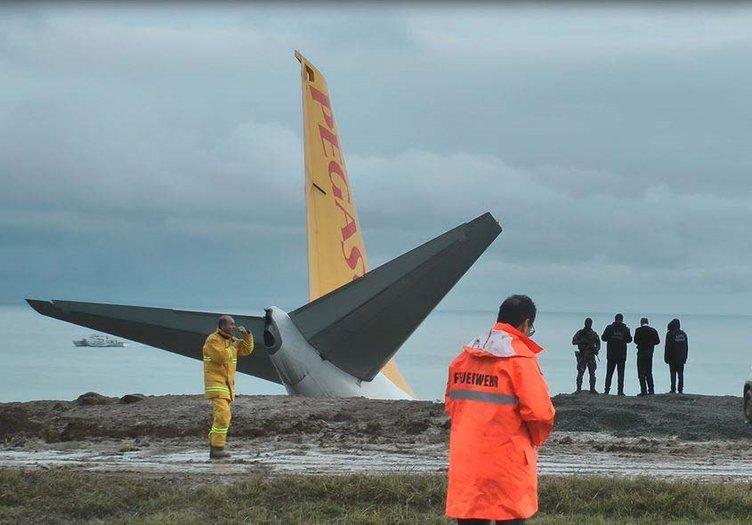 Son Dakika Haberi: İşte Trabzon'da pistten çıkan uçağın içindeki panik anları!