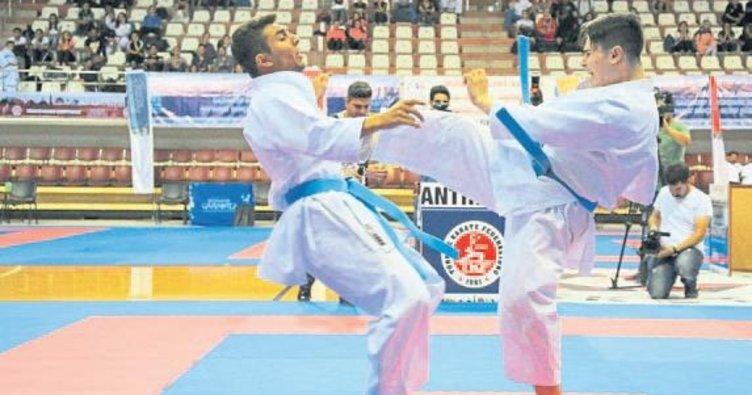 Gaziantep'te karate şampiyonası