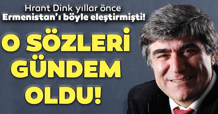 Ermenistan'ın Azerbaycan'a yönelik alçak saldırısı sonrası Hrant Dink'in o sözleri gündem oldu