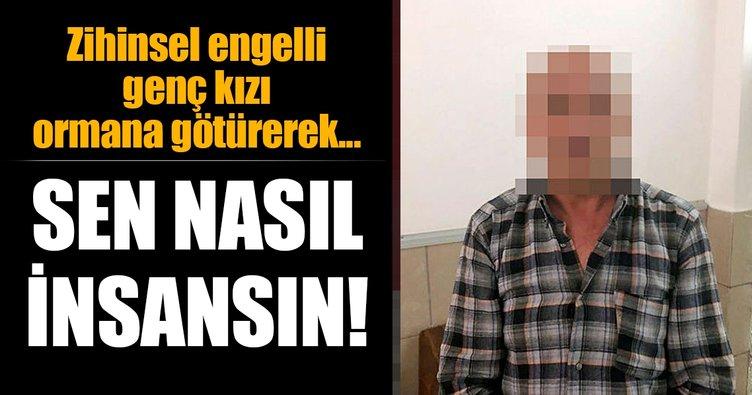 Antalya'da taksici, taksisine aldığı engelli kıza cinsel istismarda bulundu