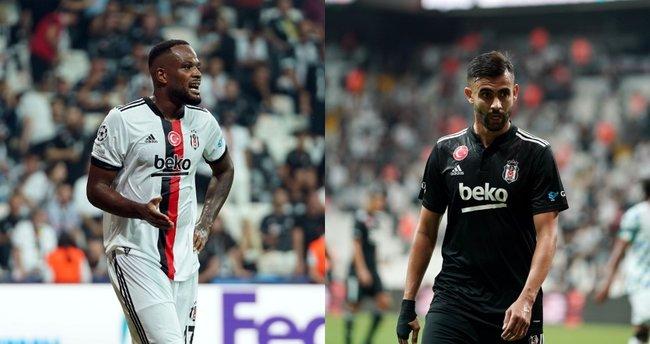 Beşiktaş'a çifte şok! Ghezzal ve Larin sakatlandı