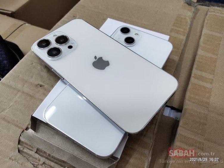 iPhone 13 işte böyle görünüyor! iPhone 13 ve iPhone 13 Pro'nun fotoğrafları sızdı