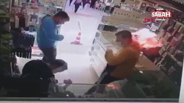 Cep telefonun bataryası patladı, yanmaktan son anda kurtuldu | Video