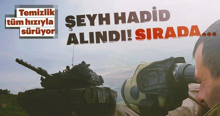 Son Dakika Haberi: Afrin'de temizlik sürüyor... Şeyh Hadid temizlendi