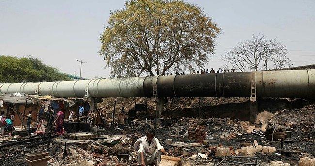 Hindistanda Kimya Fabrikasında Yangın Dünya Haberleri