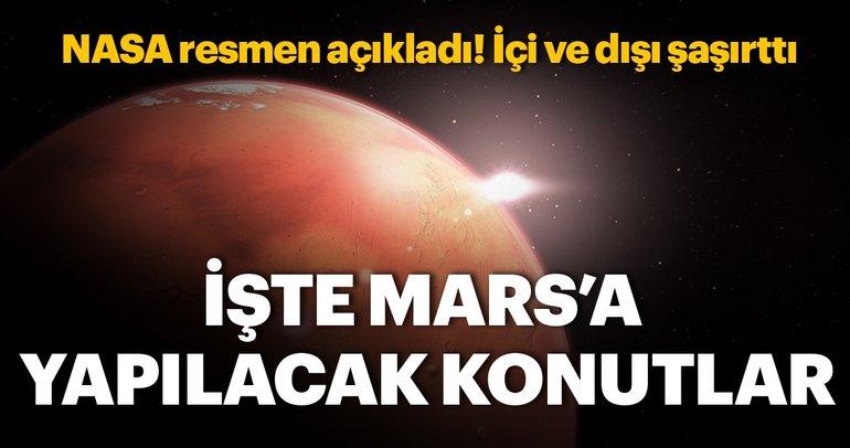 NASA Mars için konut projelerini tanıttı