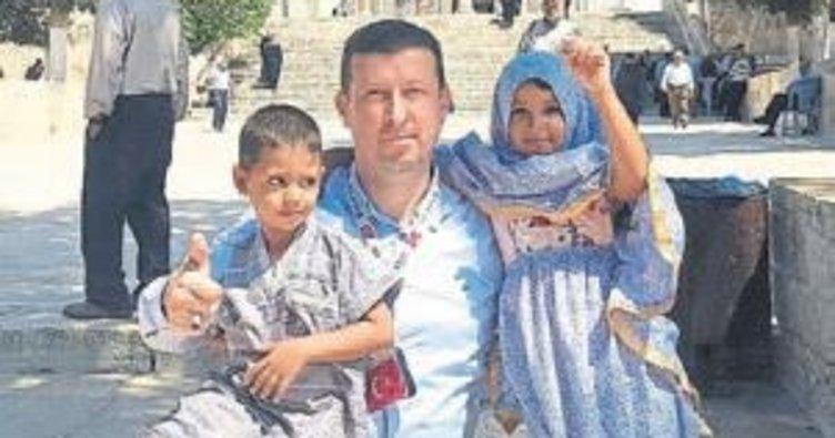 MÜSİAD heyeti Mescid-i Aksa'ya çıkarma yaptı