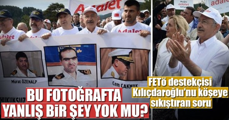 FETÖ destekçisi Kılıçdaroğlu'nu köşeye sıkıştıran soru