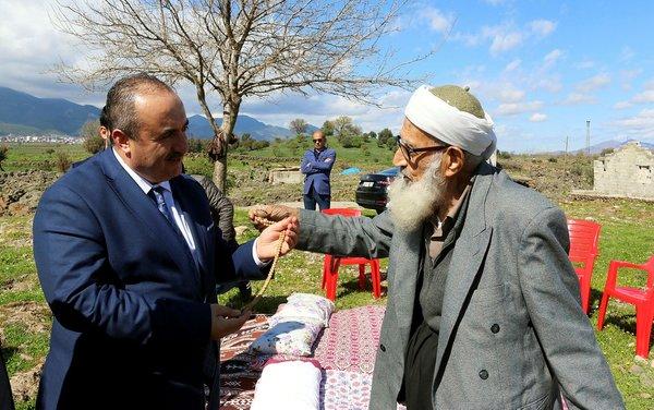 Muhammet dede Cumhurbaşkanı Erdoğan ile buluşacak.