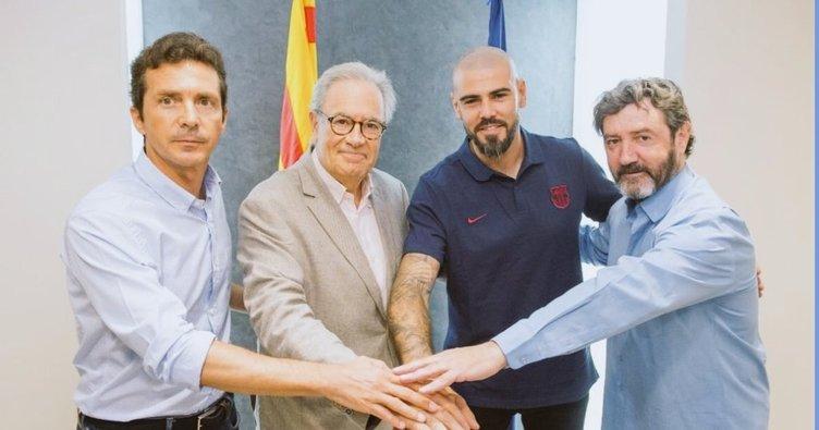 Victor Valdes, Barcelona U19 Takımı'nın başına geçti