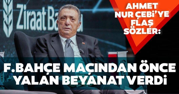 Toroğlu'dan Çebi'ye flaş sözler: Fenerbahçe...