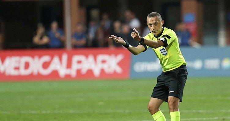 Cüneyt Çakır, Cluj - Slavia Prag maçını yönetecek