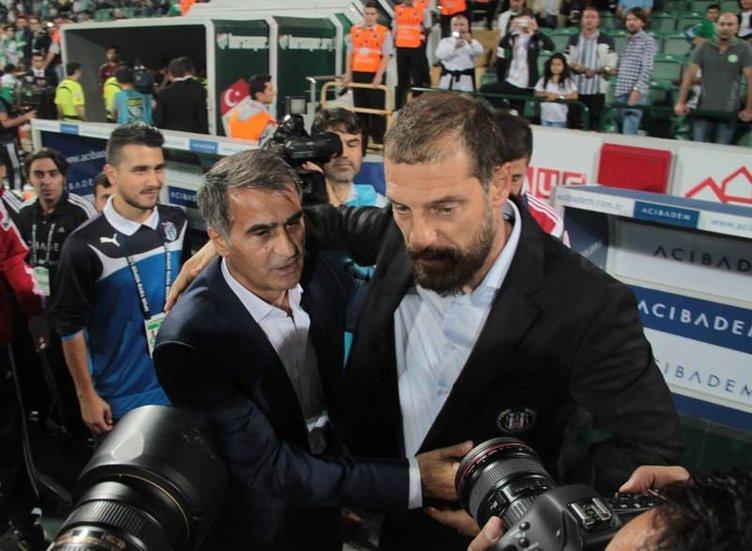 Bursaspor - Beşiktaş maçının fotoğrafları