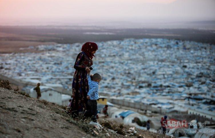 İdlib'te çadır kentlere sıkışmış hayatlar