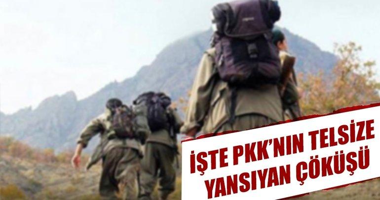 İşte PKK'nın telsize yansıyan çöküş itirafları