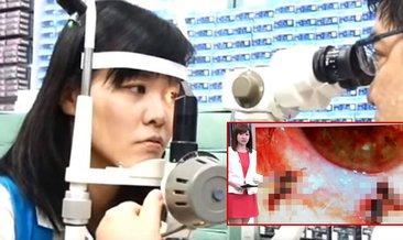 Tayvanlı kadının gözünden çıkanlar şok etti! Gözyaşıyla beslenmişler…