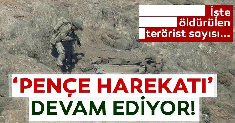 6 terörist daha etkisiz hâle getirildi