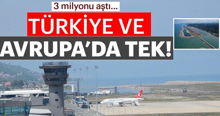3 milyonu aştı... Türkiye ve Avrupa'da tek!