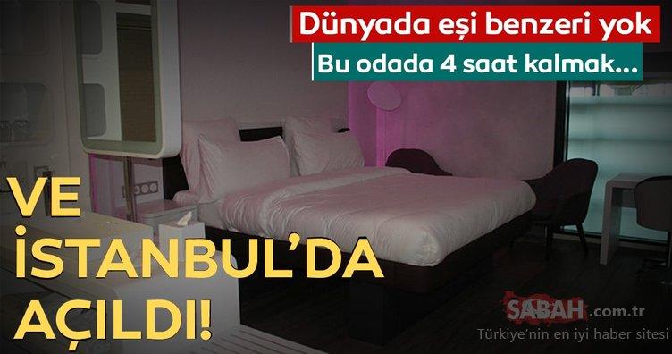 Bu otelin dünyada eşi benzeri yok! Ve İstanbul'da açıldı